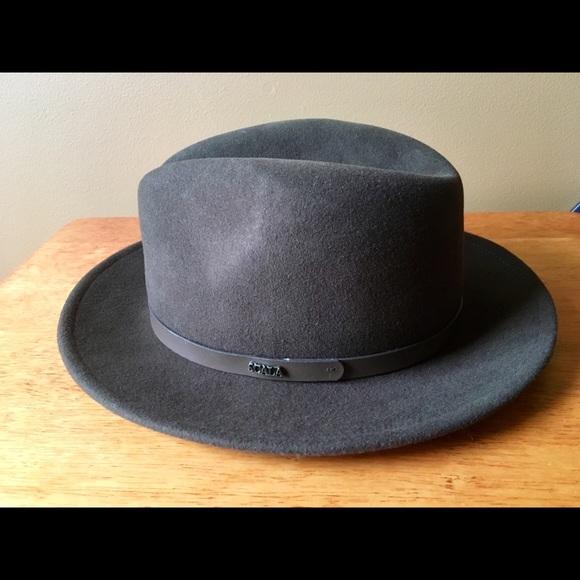 2a851d113d8 Scala Fedora Top Hat Size M 100% Wool New. M 5a6f6114a4c485f72f98184c